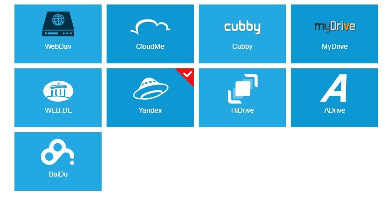 MultCloud Put multiple cloud drives into one.2