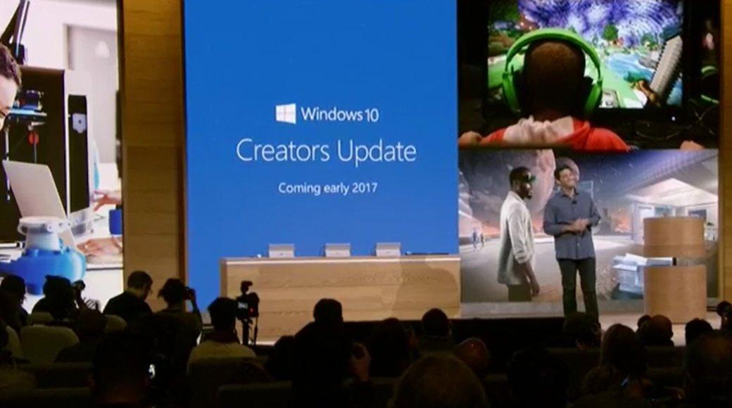 Обновление Creators Update для Windows 10