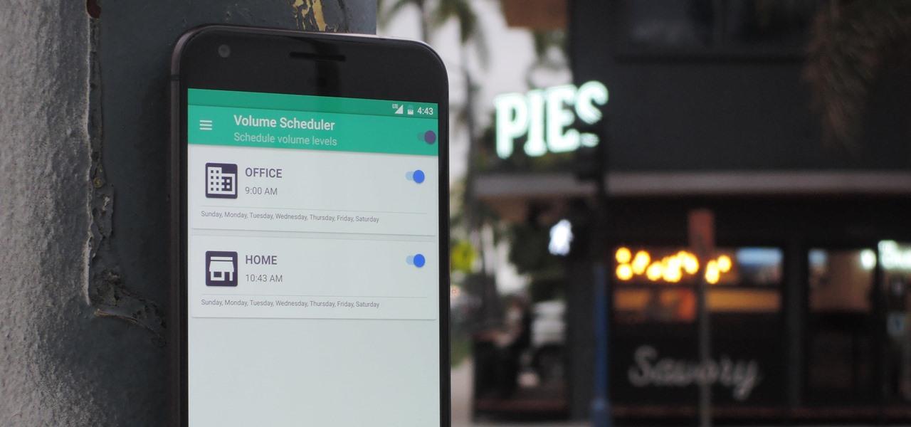 Как настроить громкость в Android по расписанию