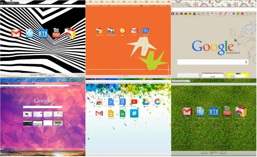 10 лучших тем для браузера Google Chrome