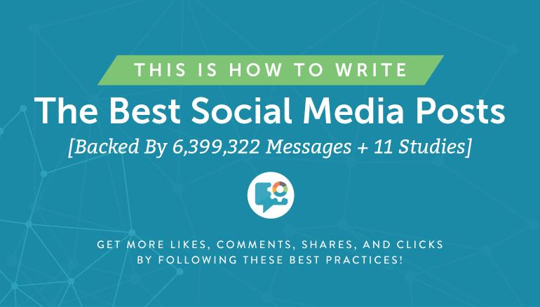 Инфографика: Как создавать наиболее эффективные посты в социальных сетях