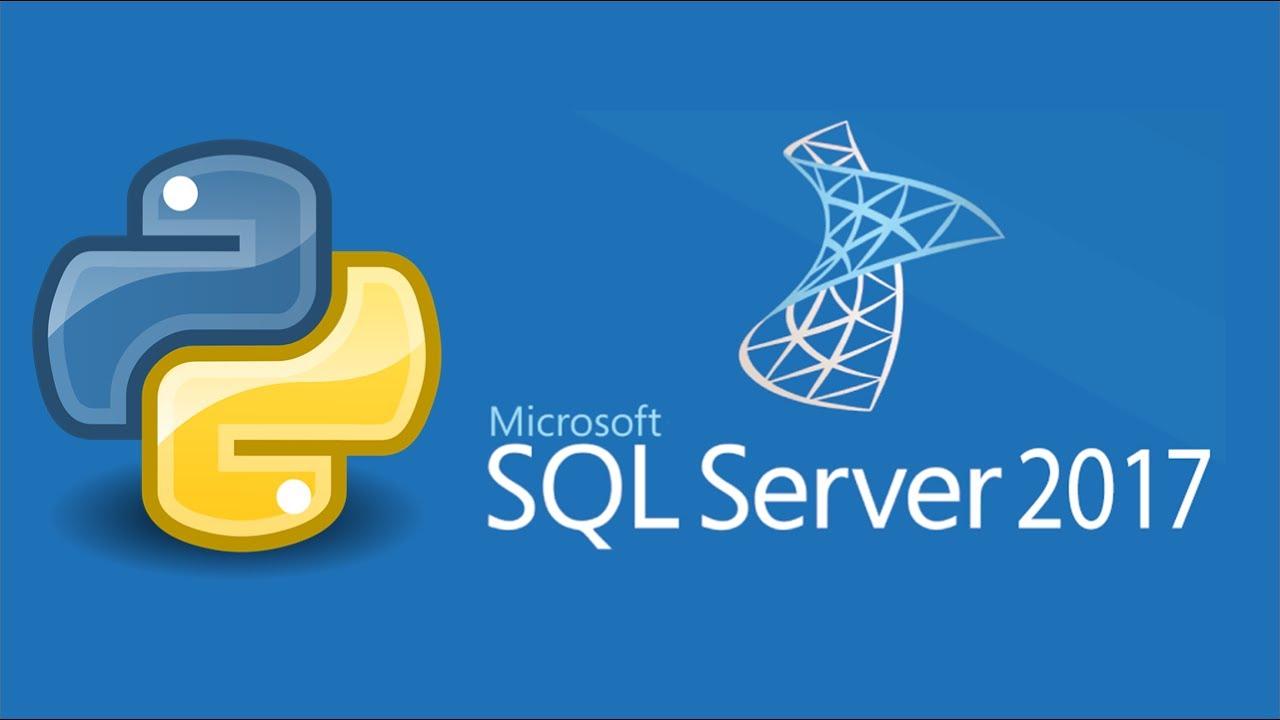 Работа Python в MS SQL 2017 на русском. Видео