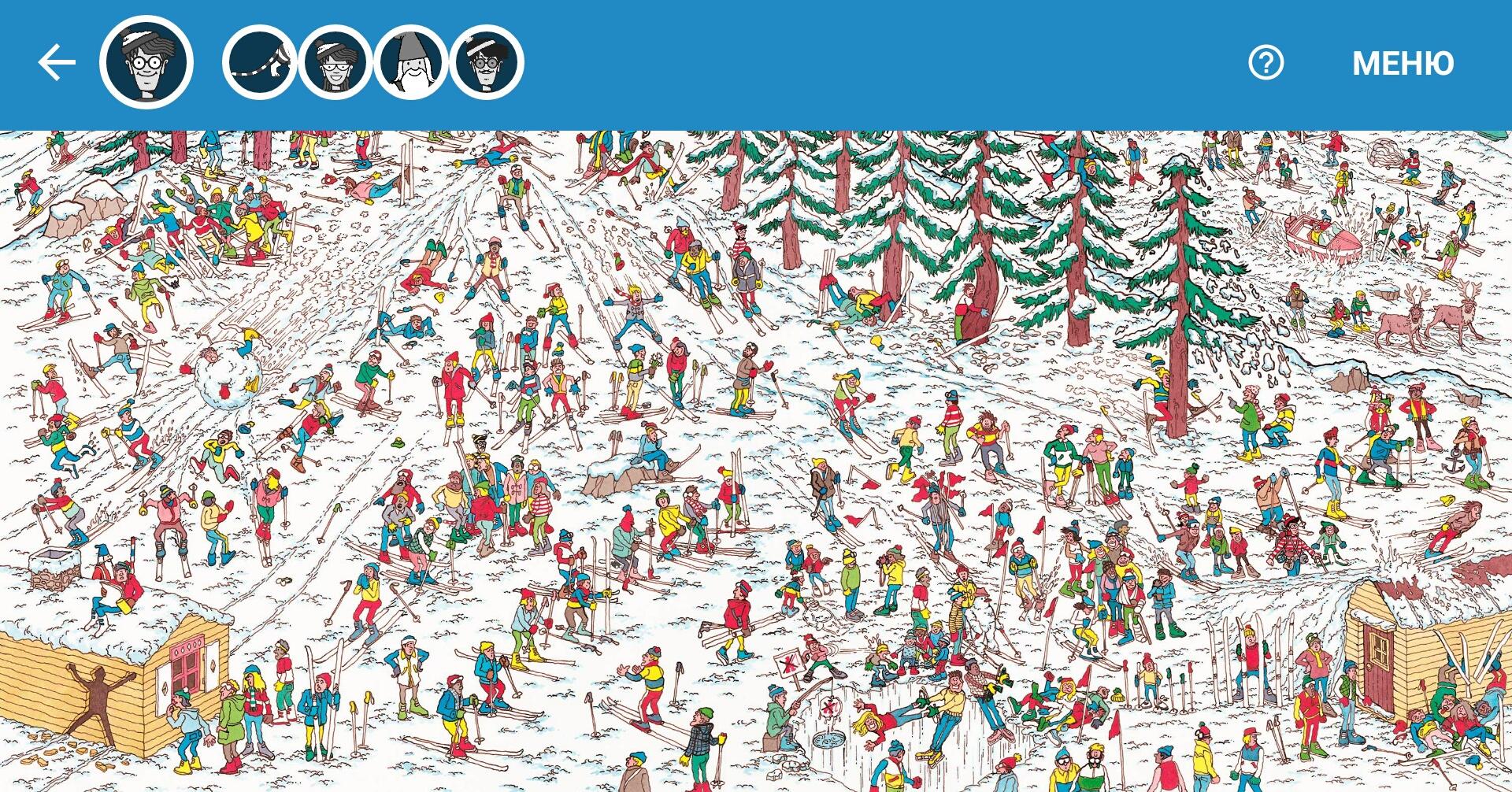 Как найти Waldo на Google Maps