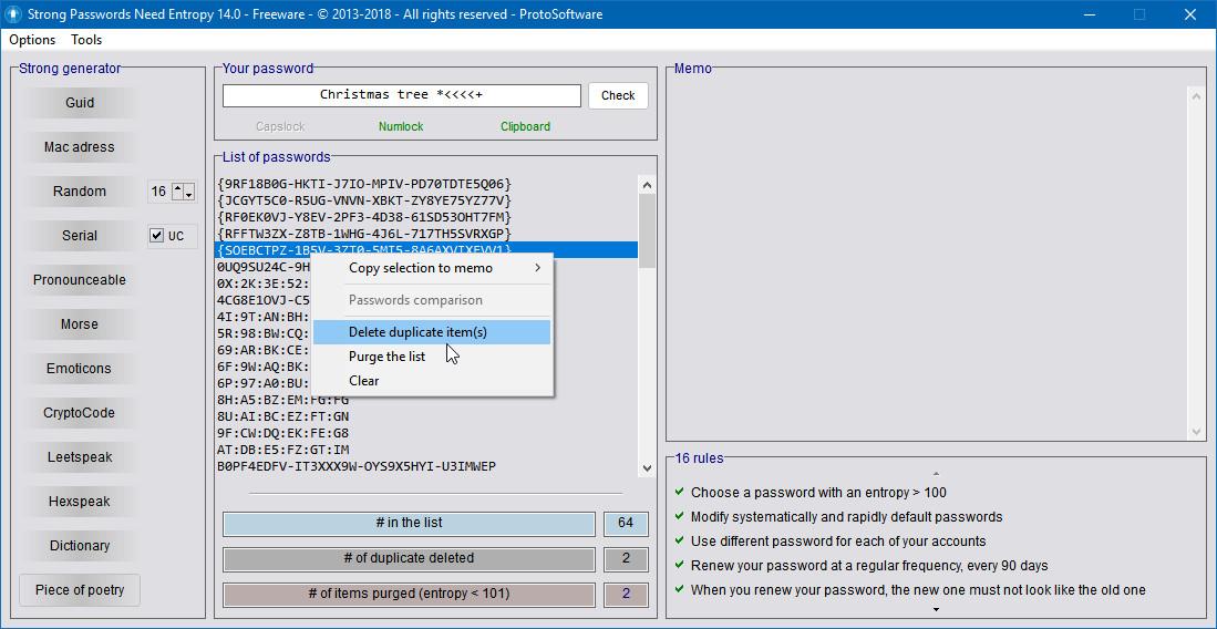 Как проанализировать пароль