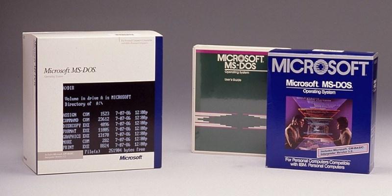 Microsoft выложили на GitHub исходный код MS-DOS 1.25 и MS-DOS 2