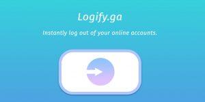 Logify — как выйти сразу из нескольких интернет-сервисов