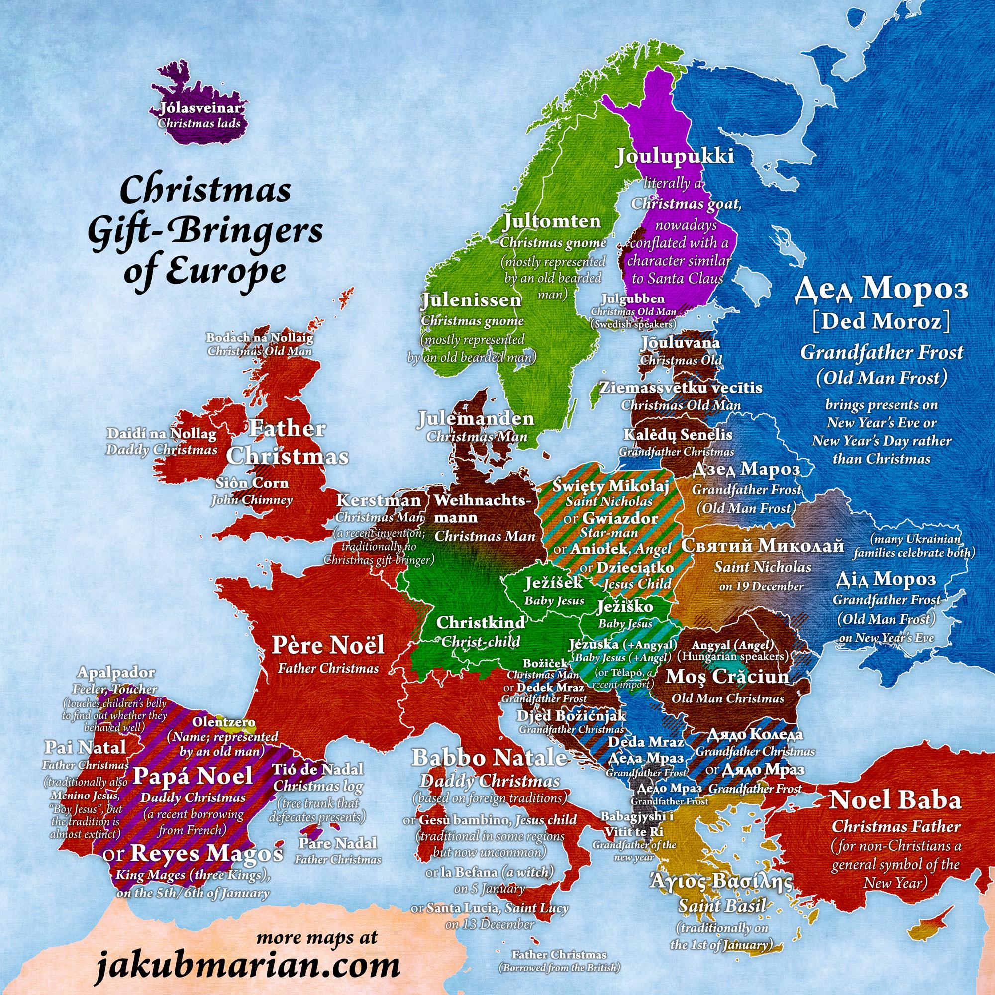 Европейская организованная группировка Дедов Морозов