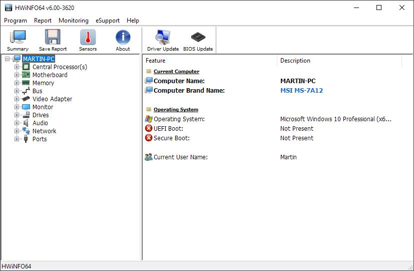 Вышел HWiNFO 6.0 с оптимизацией мониторинга