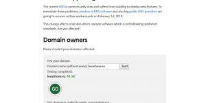 DNS Flag Day. Как проверить, будет ли ваш сайт работать 1 февраля