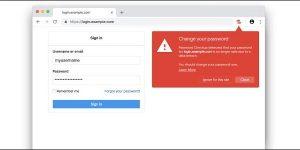 Расширение Password Checkup для Google Chrome предупреждает вас, если ваши пароли утеряны