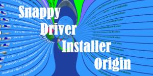 Как обновить драйвера в Windows 10. Snappy Drivers Installer Origin