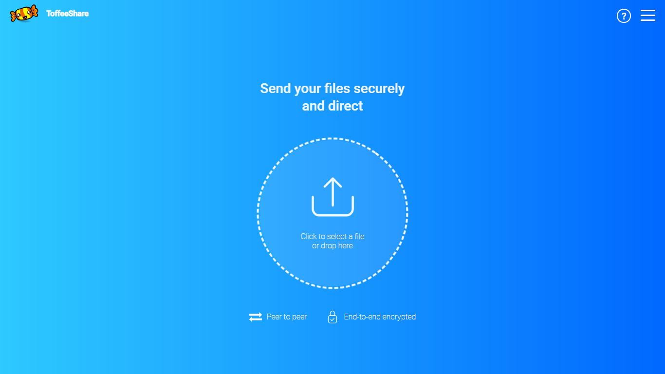 Быстрый файлообменник по сети P2P — ToffeeShare
