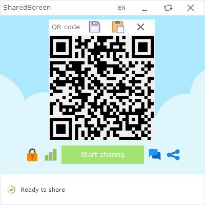 SharedScreen — демонстрация экрана удалённым пользователям