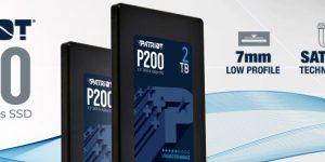 Новые PATRIOT SSD P200 — максимум производительности и эффективности