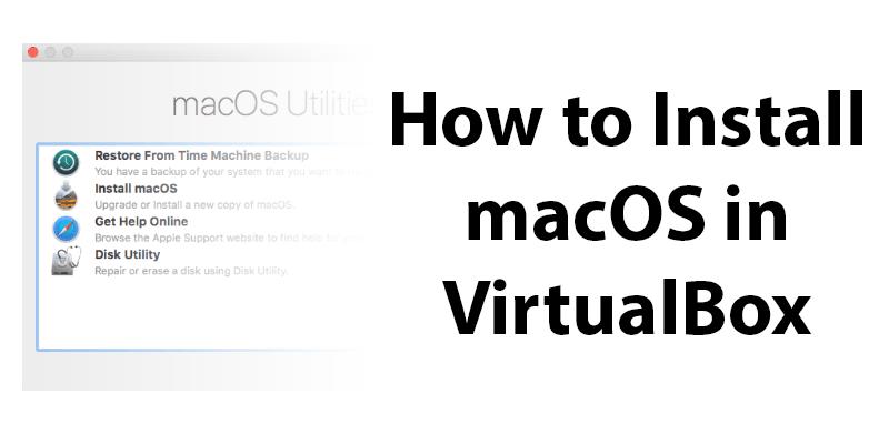 Как установить macOS в VirtualBox