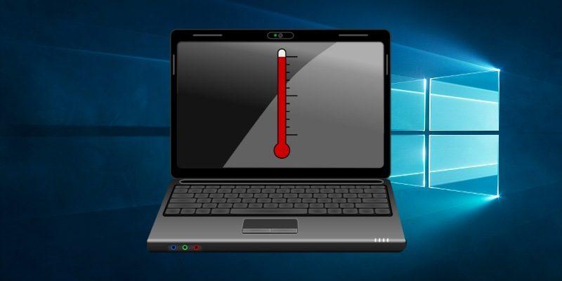 Как проверить температуру процессора вашего ноутбука в Windows 10