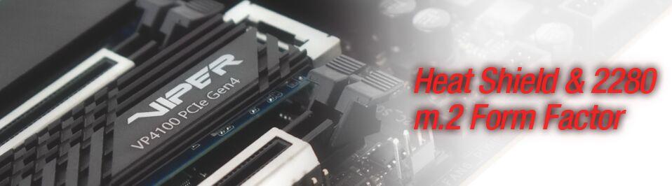Новый SSD диск от Patriot — SSD Viper VP4100 PCIe Gen4x4