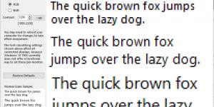 Better ClearType Tuner — настройка сглаживания шрифтов в Windows 10